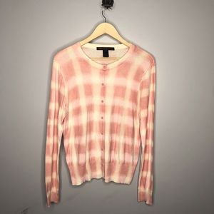 Marc by Marc Jacobs Checkered Button Down Cardigan